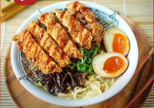 Crispy Chicken Katsu Ramen